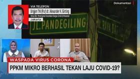 VIDEO: IAKMI: Penurunan Kasus Covid-19 Masih Fluktuatif
