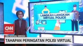 VIDEO: Tahapan Peringatan Polisi Virtual