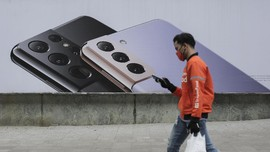 Penjualan HP Samsung Tekuk iPhone dan Xiaomi Kuartal I 2021