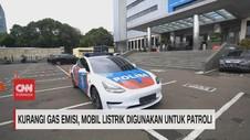 VIDEO: Mobil Listrik Digunakan untuk Patroli