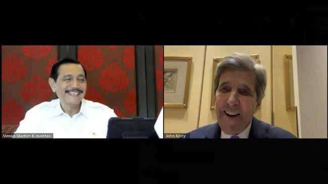Menko Luhut dan Utusan Khusus Presiden AS John Kerry sepakat bahwa tak boleh ada waktu yang terbuang dalam perang melawan perubahan iklim.