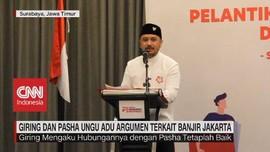 VIDEO: Giring & Pasha Ungu Adu Argumen Terkait Banjir Jakarta