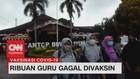VIDEO: Kehabisan Stok Vaksin, RIbuan Guru Gagal Divaksin