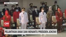 VIDEO: Pelantikan Anak dan Menantu Presiden Jokowi
