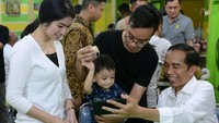 <p>Namun, masalah tersebut akhirnya terselesaikan, sehingga Jokowi dan Iriana pun memberikan restu pada Gibran Rakabuming. (Foto: Instagram)</p>