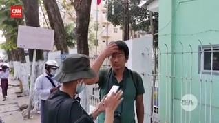 VIDEO: Jurnalis Dibebaskan Setelah Ditangkap Polisi Myanmar