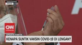 VIDEO: Kenapa Suntik Vaksin Covid-19 di Lengan?