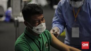 FOTO: Ratusan Atlet Jalani Vaksinasi Covid-19