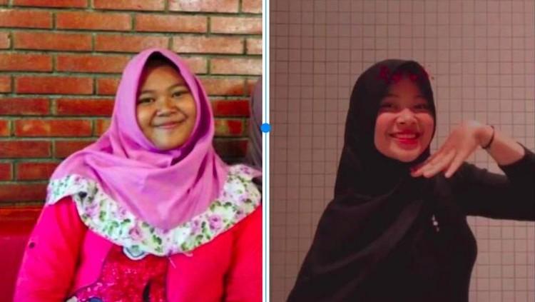 Viral di TikTok, Hijaber Turun 45 Kg
