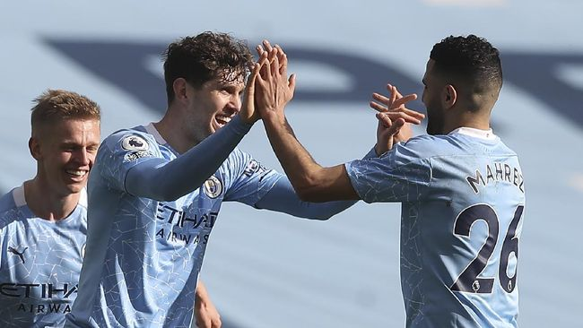 Manchester City menang tipis 2-1 atas West Ham United pada pekan ke-26 Liga Inggris di Stadion Etihad, Sabtu (27/2).