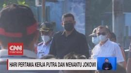 VIDEO: Hari Pertama Kerja Putra dan Menantu Jokowi