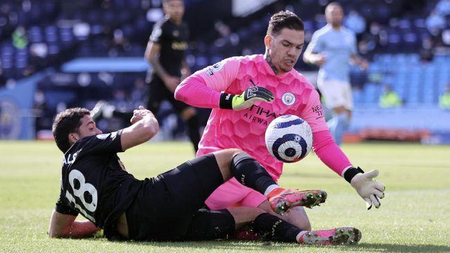 Manchester City menang atas West Ham dengan skor 2-1. Berikut klasemen Liga Inggris usai laga hari Sabtu (27/2) waktu setempat.