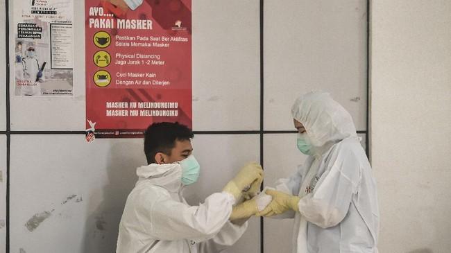 Jumlah pasien Covid-19 yang dirawat di RS Darurat Wisma Atlet Kemayoran terus bertambah dalam beberapa hari terakhir.