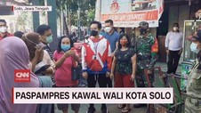 VIDEO: Paspampres Kawal Wali Kota Solo