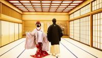 <p>Sementara, Reino Barack juga mengenakan pakaian tradisional Jepang, Bunda. (Foto: Instagram @princesssyahrini)</p>