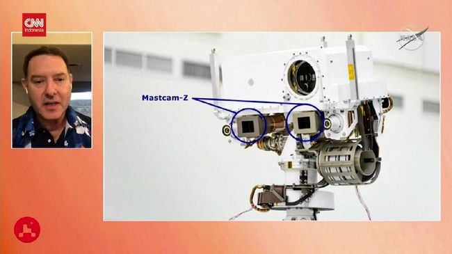 VIDEO: Intip Cara Kerja Mastcam-Z, Kamera NASA di