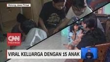 VIDEO: Viral Keluarga Dengan 15 Anak