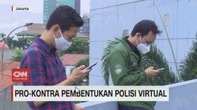 VIDEO: Pro Kontra Pembentukan Polisi Virtual