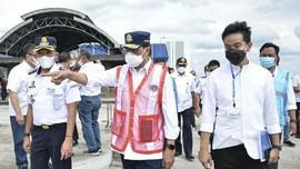 Menhub dan Gibran Tinjau Pembangunan Terminal Tirtonadi Solo