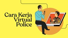 INFOGRAFIS: Cara Kerja Virtual Police Patroli di Dunia Maya
