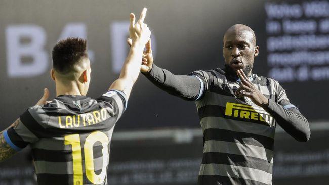 Inter Milan kini hanya membutuhkan sembilan poin tambahan untuk memastikan gelar juara Liga Italia dan menyudahi persaingan dengan AC Milan.