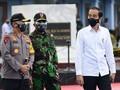 Jokowi Tinjau Vaksinasi Pekerja Publik di Yogyakarta Besok