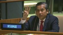 Diplomat Pro Suu Kyi dan Militer Myanmar Berebut Kursi di PBB