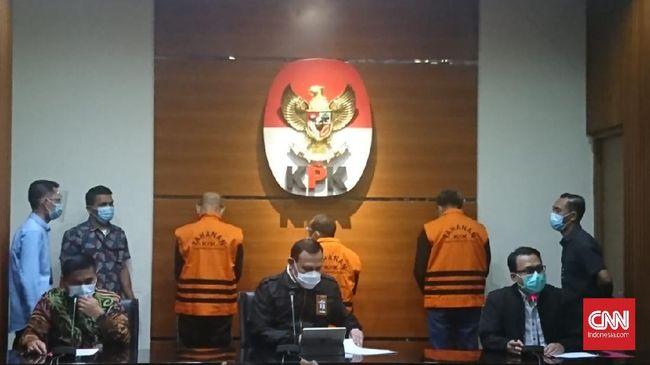 KPK menetapkan Gubernur Sulsel Nurdin Abdullah sebagai tersangka kasus suap.