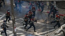 Perwira Polisi Myanmar Ikut Pembangkangan Sipil Lawan Kudeta