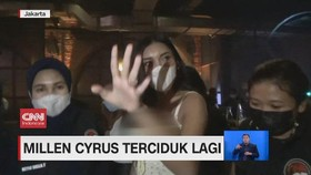 VIDEO: Millen Cyrus Terciduk Lagi