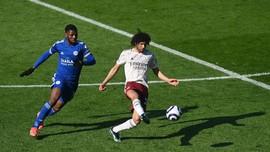 Hasil Liga Inggris: Arsenal Gulung Leicester 3-1