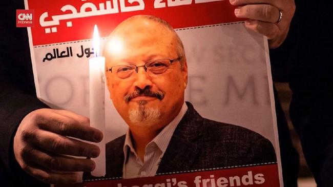 VIDEO: AS Beri Sanksi Jaringan di Balik Pembunuhan Khashogg