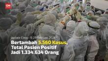 VIDEO: Positif Covid-19 Harian Turun Jadi 5.560 Kasus