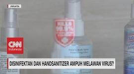 VIDEO: Disinfektan & HandSanitizer Ampuh Melawan Virus