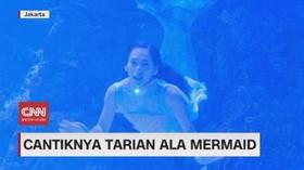 VIDEO: Cantiknya Tarian Ala Mermaid