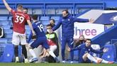 Duel Chelsea melawan Manchester United berakhir antiklimaks dengan skor 0-0 dalam laga lanjutan Liga Inggris di Stamford Bridge, London, Minggu (28/2).