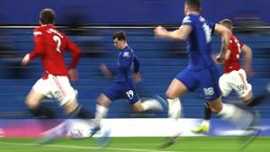 FOTO: Chelsea vs Man Utd Berakhir Antiklimaks