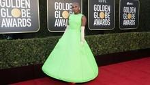 FOTO: Sederet Gaya Selebriti di Golden Globe Awards 2021