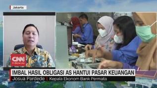 VIDEO:  Imbal Hasil Obligasi As Hantui Pasar Keuangan