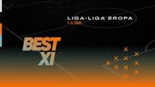 INFOGRAFIS: Best 11 Liga Eropa, Lukaku Diapit Bale-Messi