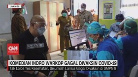 VIDEO: Komedian Indro Warkop Gagal Divaksin Covid-19