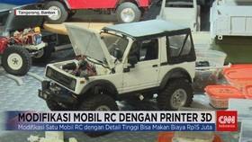 VIDEO: Modifikasi Mobil RC dengan Printer 3D
