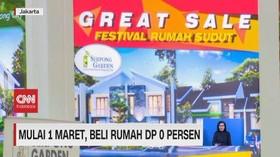 VIDEO: Mulai 1 Maret, Beli Rumah DP 0 Persen