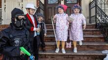 FOTO: Perayaan Hari Raya Purim Umat Yahudi di Berbagai Negara