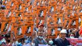 Usai kudeta pada 1 Februari lalu, Myanmar seolah mundur dari masa demokrasi ke zaman kegelapan junta militer.