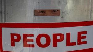 FOTO: Satu Bulan Myanmar Bergolak Akibat Kudeta