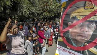 85 Warga Myanmar Lari ke India hingga Paus Gelar Misa di Irak