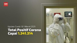 VIDEO: Positif Corona Capai 1.341.314 Jelang Setahun Pandemi