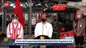 VIDEO: Jokowi Resmikan KRL Yogya - Solo