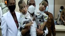 VIDEO: Dinyatakan Sehat, Bayi Adam-Aris Segera Keluar Dari RS